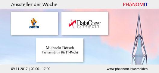 Aussteller der Woche: canto, DataCore und Michaela Dötsch