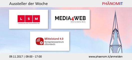 Aussteller der Woche: Lüdenscheider Stadtmarketing, Media4Web, Hagen Agentur