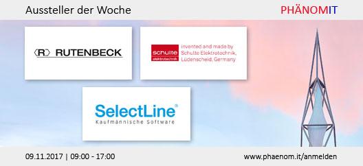 Aussteller der Woche: Rutenbeck, Schulte Elektrotechnik, SelectLine