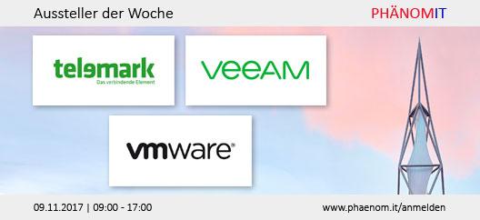 Aussteller der Woche: Telemark, Veeam, VMware